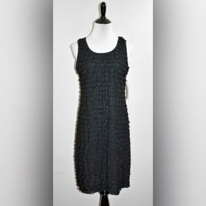 NWT NY Collection Ruffled Flapper Style Dress